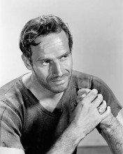 This is an image of 188535 Charlton Heston Photograph & Poster