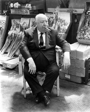 This is an image of 188542 Alfred Hitchcock Photograph & Poster