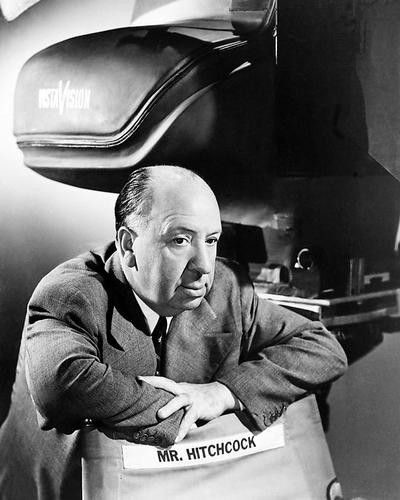 This is an image of 188543 Alfred Hitchcock Photograph & Poster