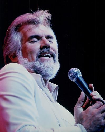 This is an image of 280013 Kenny Rogers Photograph & Poster