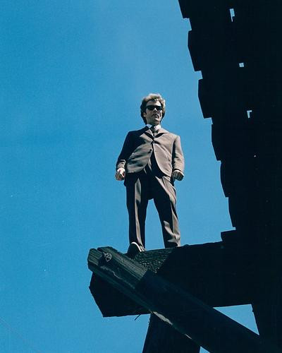 This is an image of 280016 Dirty Harry Photograph & Poster