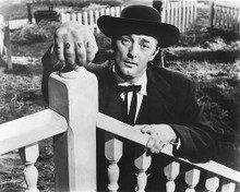 This is an image of 169021 Robert Mitchum Photograph & Poster