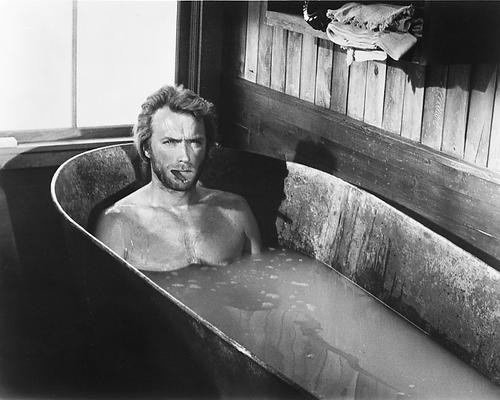 This is an image of 171234 Clint Eastwood Photograph & Poster