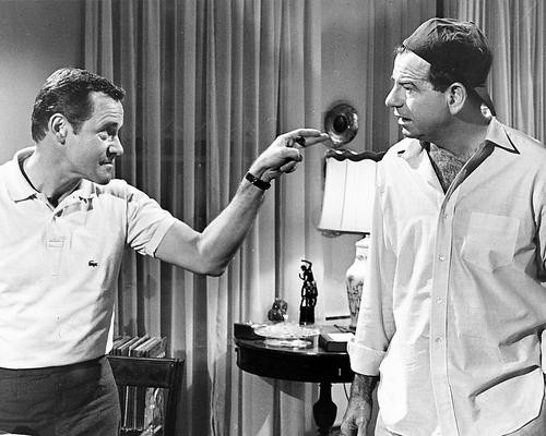 This is an image of 172563 Jack Lemmon & Walter Matthau Photograph & Poster