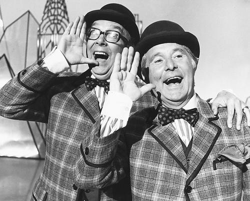 This is an image of 173058 Eric Morecambe & Ernie Wise Photograph & Poster