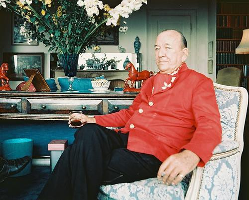 This is an image of 238333 Noel Coward Photograph & Poster