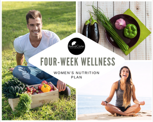 The Four-Week Wellness Nutrition Plan For Women by Reece Carter