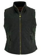 Ladies Quilted Oilskin Vest