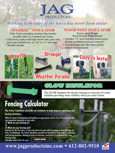 4 Livestock Species and Their Electric Fence Needs - JAG Products, Inc