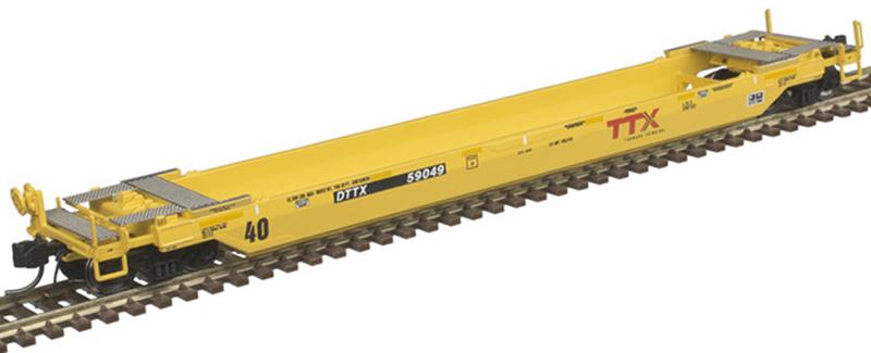 """Atlas 50 005 290 40 Foot Rebuilt Well Car TTX """"Forward Thinking"""" 1A DTTX 59049 (Second Run)"""