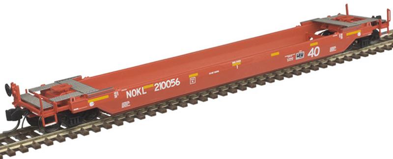 Atlas 50 005 297 40 Foot Rebuilt Well Car Northwestern Oklahoma Railroad NOKL 210056 (Second Run)