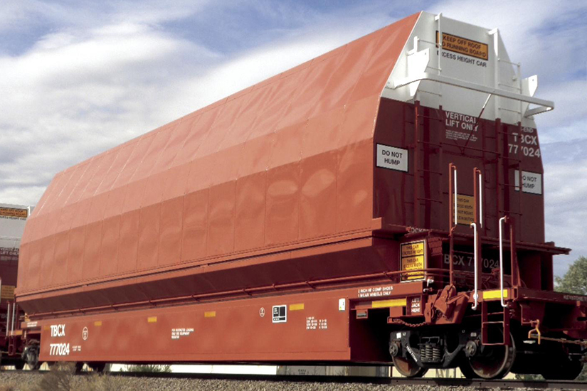 Liberty Railway Services Inc., Aircraft Component Skybox Car Boeing TBCX 777024