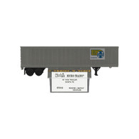 Kadee Micro-Trains 67010 Santa Fe Truck Rail Service Highway Piggy Back Container 45' Fruehauf Intermodal Van Trailer