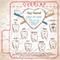 Vintage Paper Dental Lip Balm Tube