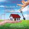 Hand Holding House Real Estate Lip Balm Tube