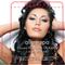 Pretty Girl with Long Black Hair and Blue Eyes Salon Lip Balm Tube