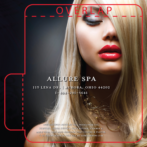 Beautiful Blonde all Made Up Salon Lip Balm Tube