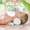 Lady Laying on Towel with Nature in the Background Lip Balm Tube