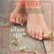 Woman's Feet on Wood Backdrop Lip Balm Tube