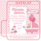 Pretty Pink Baby Shower Lip Balm Tube