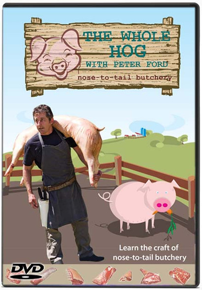THE WHOLE HOG nose-to-tail butchery with Peter Ford