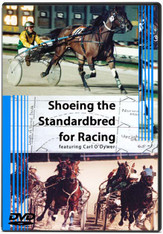 SHOEING THE STANDARDBRED FOR RACING