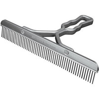 Sullivan Supply Aluminum Handle Blunt Tooth Comb