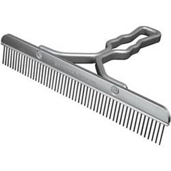 Sullivan Supply Aluminum Handle Blunt Tooth Comb
