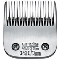 "Detachable steel blades fit all Andis AG, AGC, AGP, AGR+ and AGRC models. Leaves hairs 1/2"" - 13 mm"