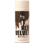 Red Velvet Touch-Up is the final touch-up for covering adhesives and leg builders on medium-dark red colored hair, especially dark red Shorthorn and Red Angus cattle. Red Velvet Touch-Up provides excellent coverage, texture and color dimension to enhance your animal's natural hair color. Select single or case and specify quantity below. ALL AEROSOLS MUST BE SHIPPED GROUND.THEY CANNOT GO NEXT DAY, SECOND DAY, OR THIRD DAY AIR.  THEY CANNOT BE SHIPPED INTERNATIONALLY WITH THE U.S. POSTAL SERVICE.