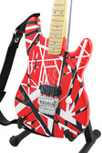 Miniature Guitar Charvel USA EVH Art Series RED
