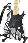 Miniature Guitar Charvel USA EVH Art Series WHITE