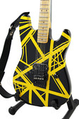 Miniature Guitar Charvel USA EVH Art Series YELLOW