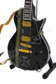 Miniature Guitar James Hetfield Metallica Maltese Cross