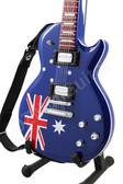 Miniature Guitar LP AUSTRALIA Flag