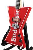 Miniature Guitar BUDWEISER Dean