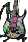 Miniature Guitar STEVE VAI Flower Cut Out I