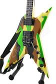 Miniature Guitar Dimebag Stealth Razorback ARMY