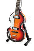 Miniature Guitar Paul McCartney THE BEATLES Hofner Bass