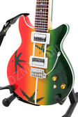 Miniature Guitar Bob Marley Les Paul MARIJUANA
