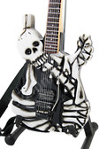 Miniature Guitar George Lynch Skulls & Bones