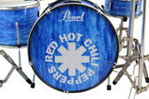 Red Hot Chili Peppers CHAD SMITH Miniature Drum set