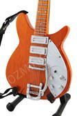 Miniature Guitar BEATLES John Lennon Natural '58 Rickenbacker 325