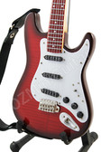 Miniature Guitar ROY FITZSIMMONDS SG Red Flame Maple