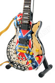 Miniature Guitar Zakk Wylde LP REBEL