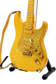 Miniature Guitar PRINCE Custom Gold Leaf