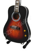 Miniature Guitar John Lennon THE BEATLES Acoustic Sunburst