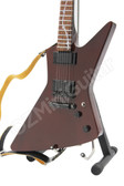 Miniature Guitar James Hetfield Metallica Wood Grain Explorer