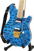 Miniature Guitar John Fogerty CCR Blue