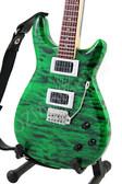 Miniature Guitar Carlos Santana PRS Emerald Green